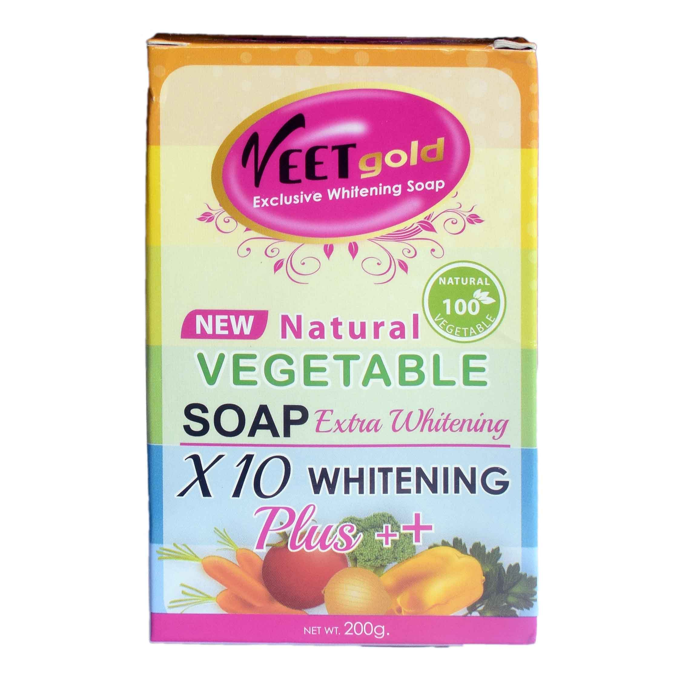 Veetgold Natural vegetable Extra Whitening Soap