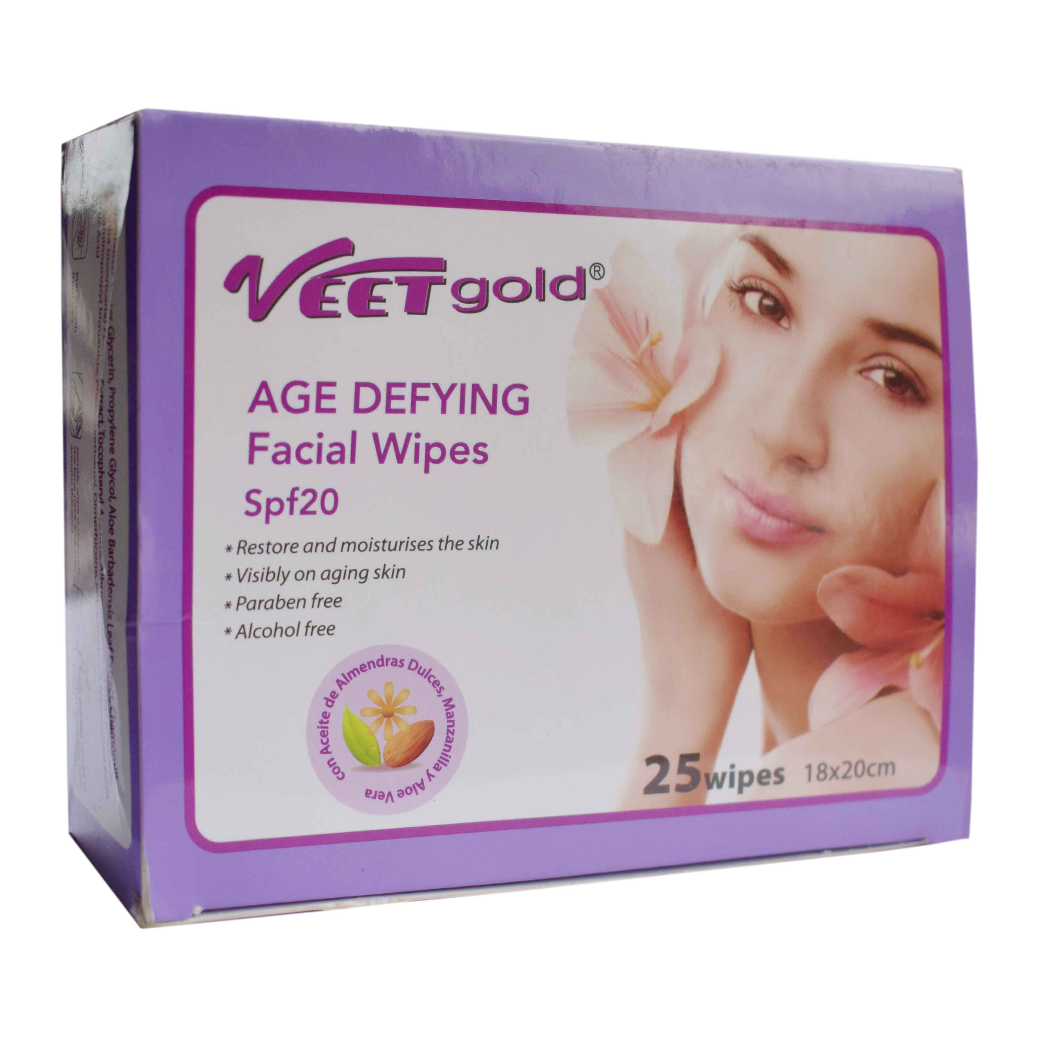 Age Defying Facial Wipe
